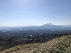 天保山からの岩手山
